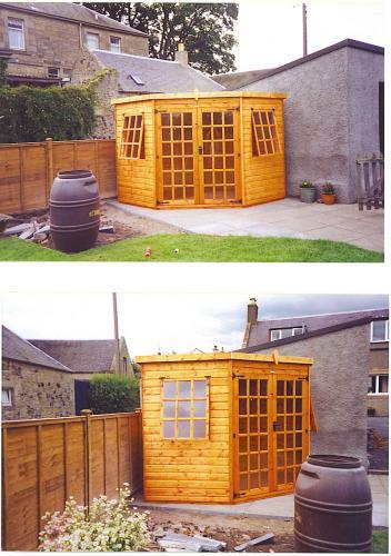 Edinburgh Decking Bespoke Garden Decking: Summerhouses, Chalets, Gazebos & Garden Offices In The