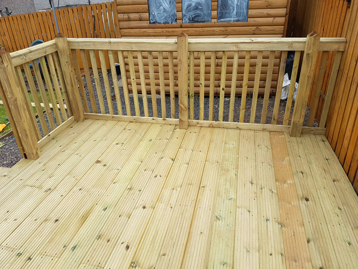 Decking Ideas in the Scottish Borders & Edinburgh - 1st for Fencing ...