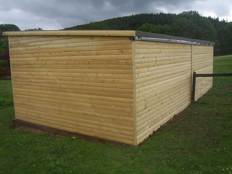 Field Shelters in the Scottish Borders & Edinburgh - 1st for Fencing