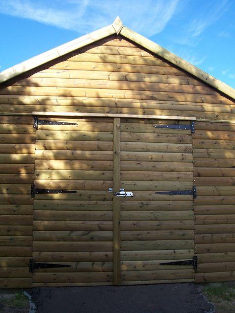 Edinburgh Decking Bespoke Garden Decking: Timber Garages In The Scottish Borders & Edinburgh