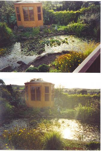 Edinburgh Decking Bespoke Garden Decking: Summer Garden Buildings In The Scottish Borders