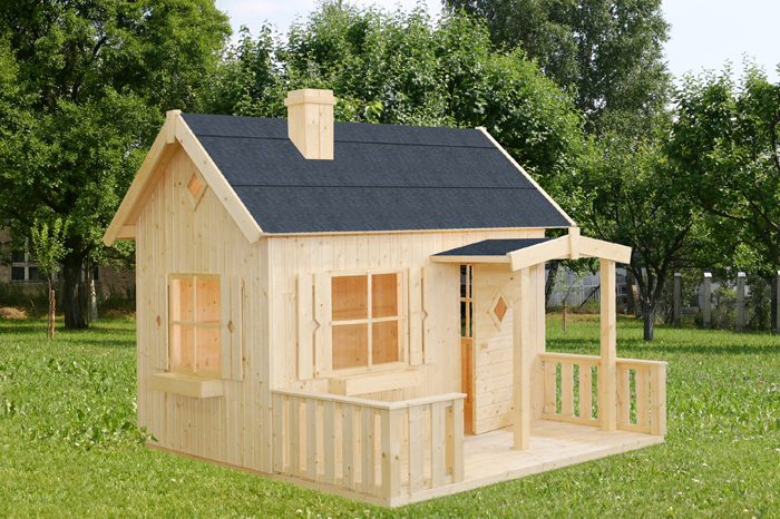 Chidren S Wooden Playhouses In The Scottish Borders