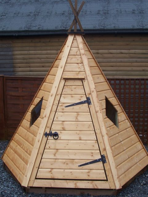 Chidrens Wooden Playhouses In The Scottish Borders Edinburgh